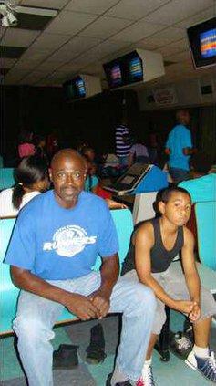 Mentor bowling night --ASHLEYS