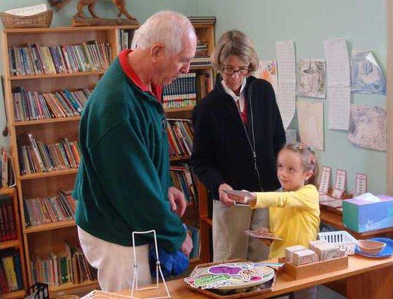 Montessori grandparents day