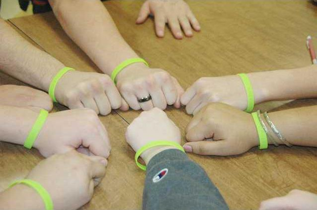 Standup to bullying bracelets