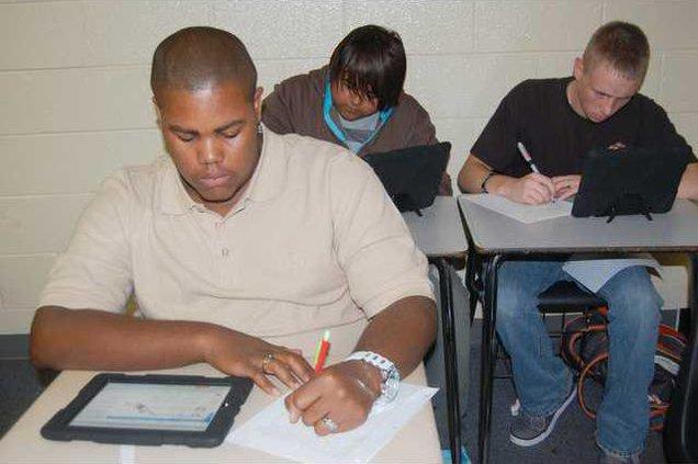 iPad students