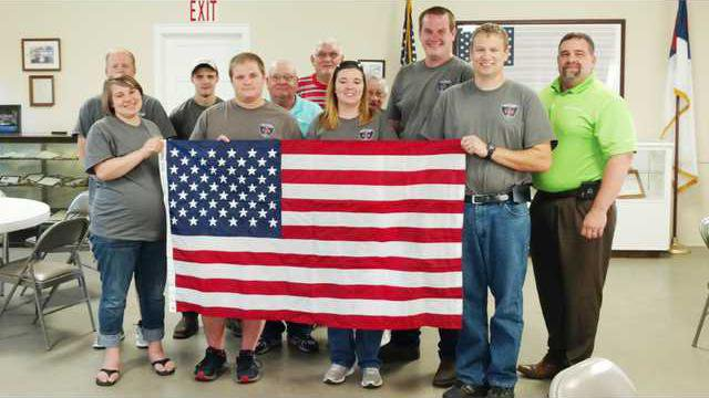Flag Donation Web