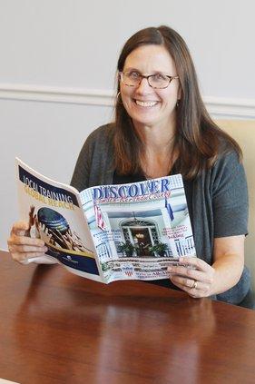 Amy Reading Magazine