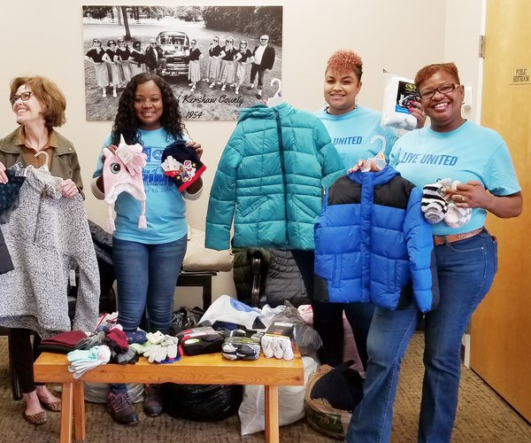 INVISTA clothing donation