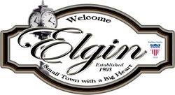 Elgin Town Sign