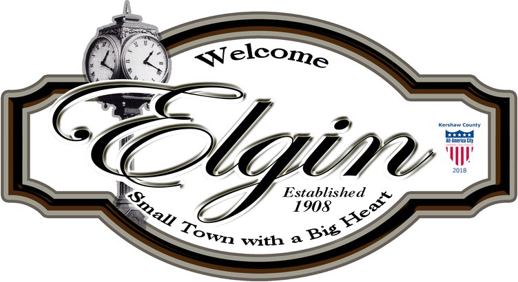 Elgin Town Sign