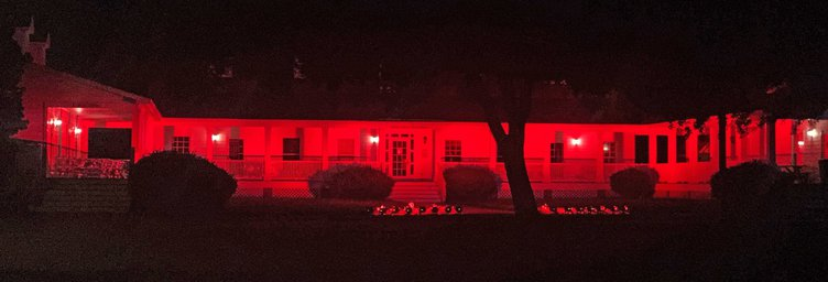 Arts Center in Red
