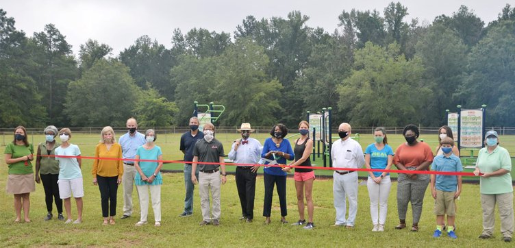 Scott Park Ribbon Cutting