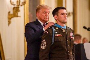 Payne Receiving Medal