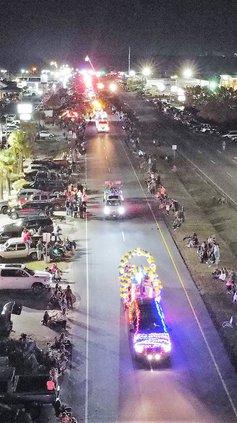 Lights of Lugoff Parade