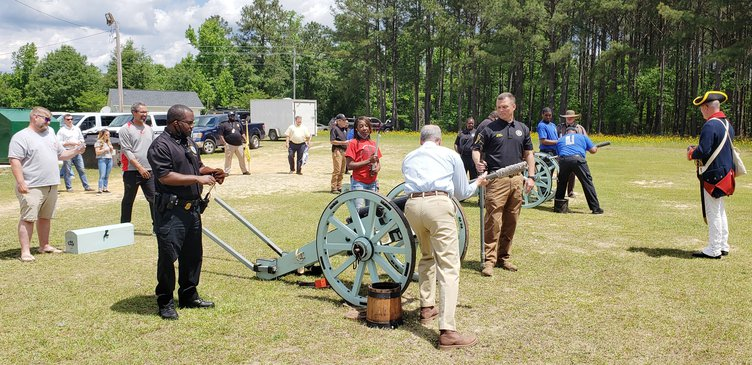 KCDC Cannon Exercise
