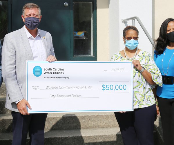 SCWU Wateree Donation