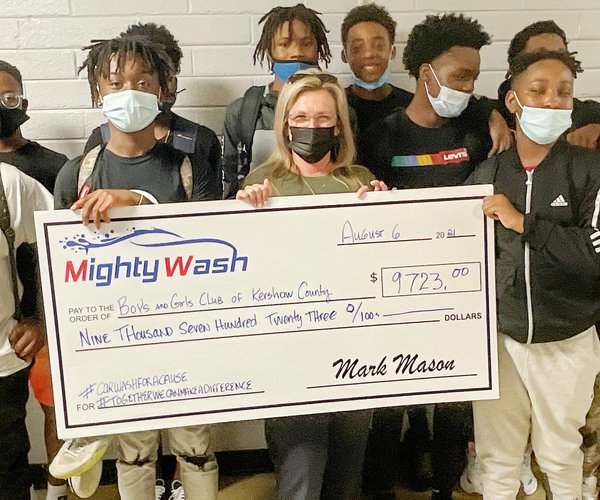Mighty Wash Donation