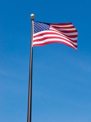 American Flag Pole